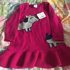 A NWT 2T sweater dress from Gymboree